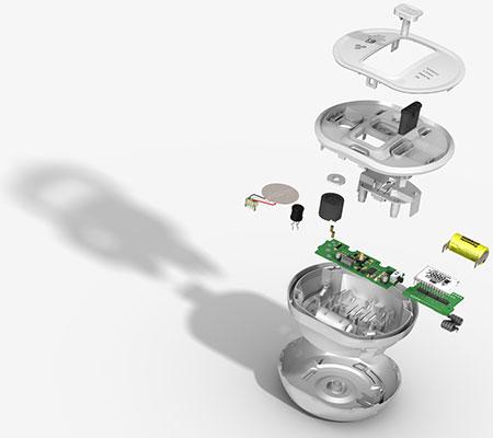 Ei-Electronics-Kohlenmonoxidwarnmelder-Ei208DW-D-mit-LC-Display-funkvernetzbar